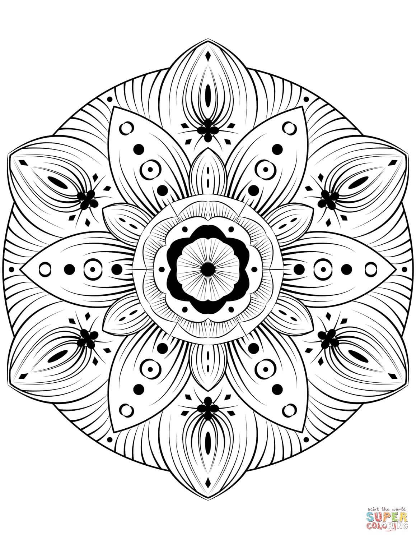 מנדלה פרח לצביעה