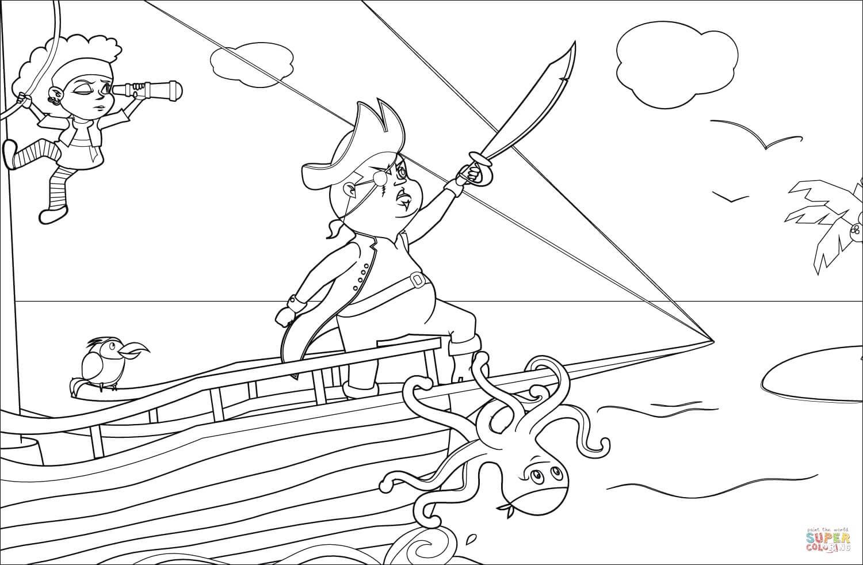 ספינת פיראטים לצביעה