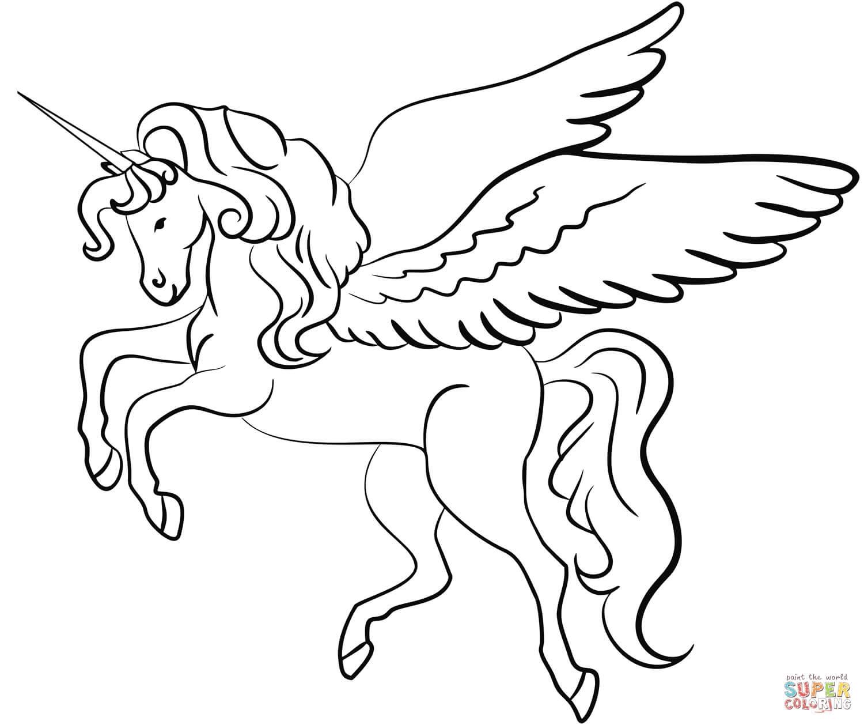 חד קרן עם כנפיים