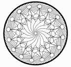 cool circle Mandala