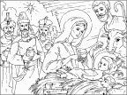 דף צביעה של תינוק