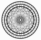 מנדלה עיגולים