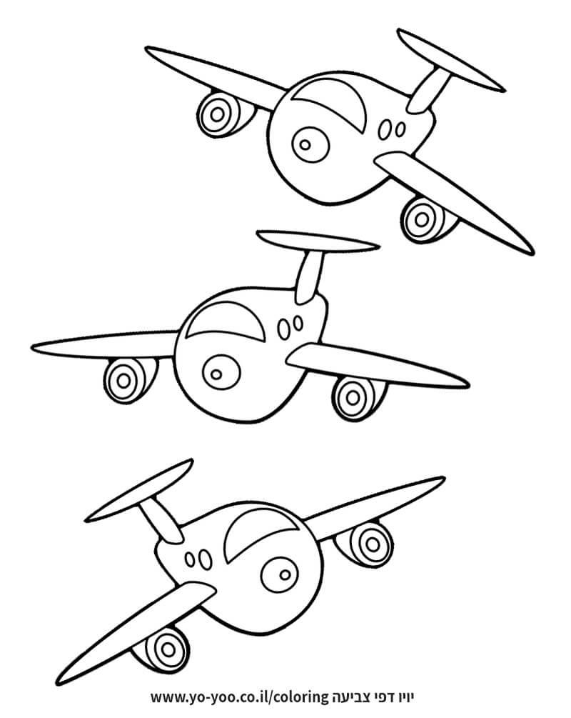 צביעת מטוסים