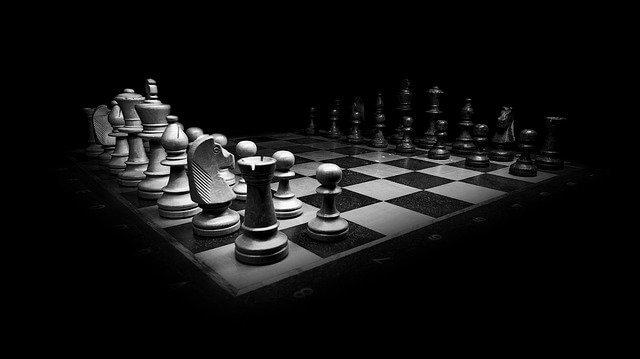 שחמט בשחור לבן