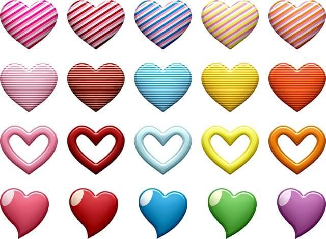 תמונה של לבבות יפים
