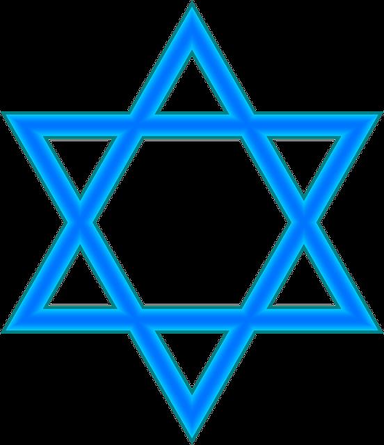 מגן דוד כחול לבן