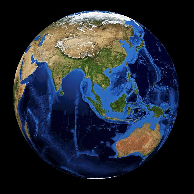 כדור הארץ - גלובוס