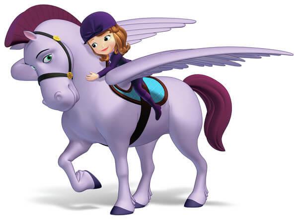 הנסיכה סופיה ומינימוס הסוס
