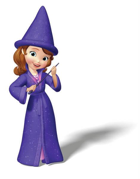 תמונה מהסדרה הנסיכה סופיה