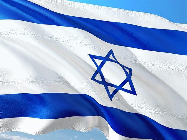 דגל ישראל ברוח