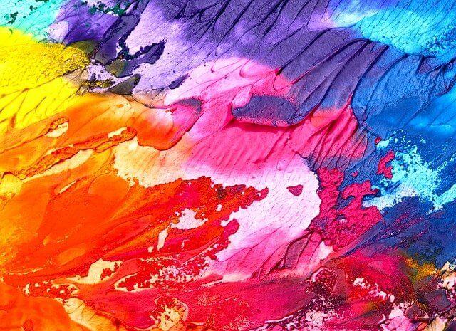 תמונה של צבעים