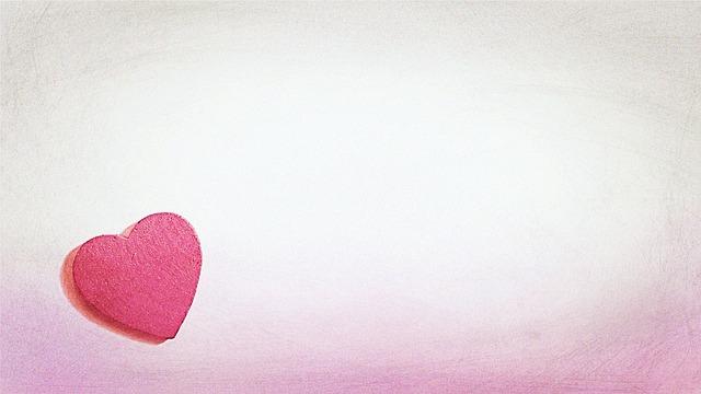 רקע עם לב