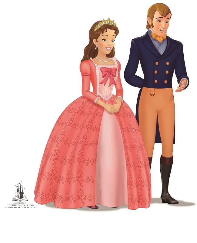 רונלד ומירנדה הנסיכה סופיה