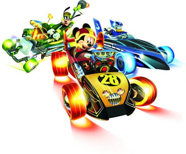 מיקי ומכוניות המירוץ