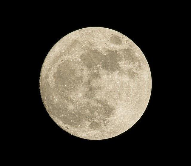 תמונה של ירח