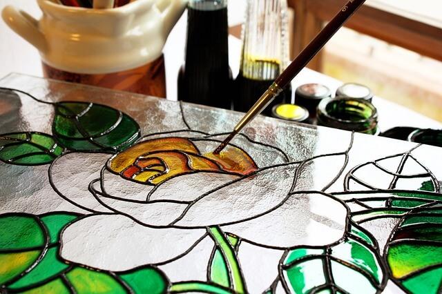 ציור על זכוכית