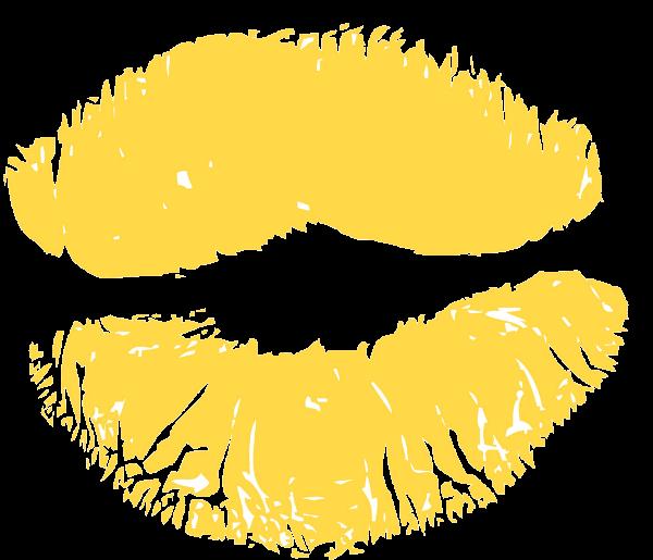 נשיקה כתומה צהובה