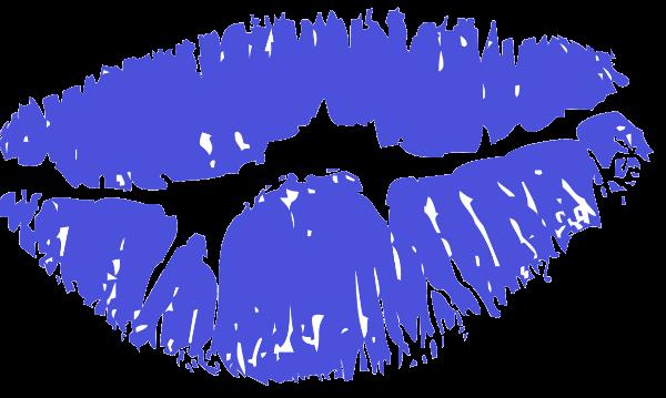 נשיקה כחולה