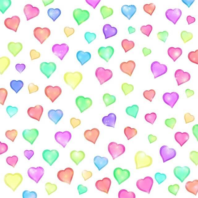 רקע לבבות