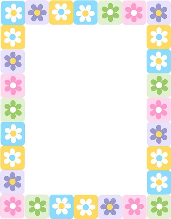 מסגרת פרחים