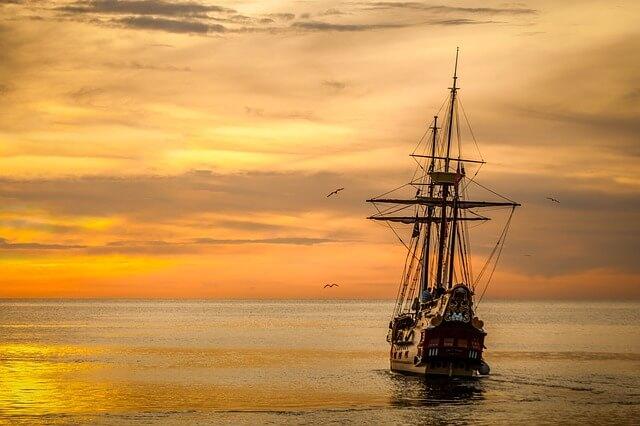 אונייה בים