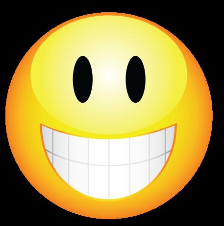 סמיילי עם שיניים