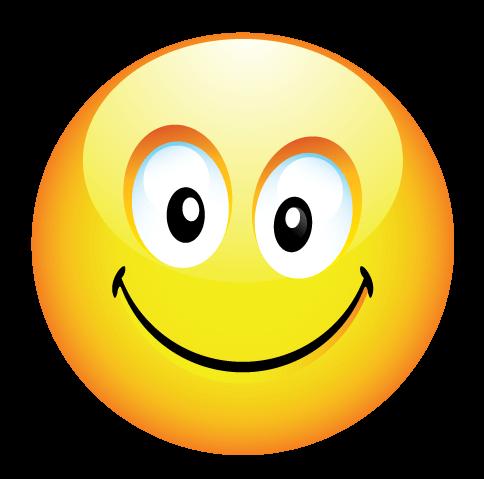 סמיילי מחייך
