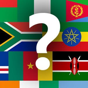זיהוי דגלים - אפריקה