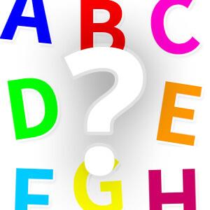 משחק ללימוד האותיות באנגלית (הA,B,C)