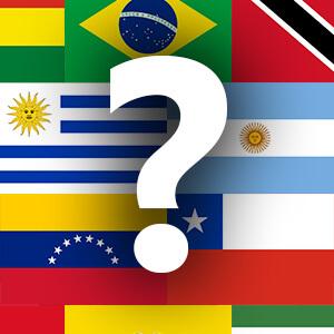 דגלים - דרום אמריקה