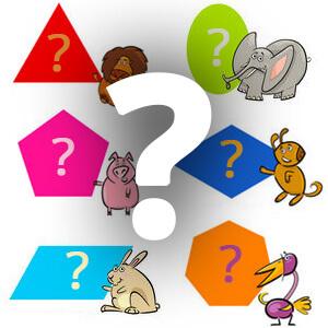משחק זיהוי צורות לילדים קטנים , משחק הצורות זהו את הצורה , שחקו עם הילדים וכתבו את הצורה שהילד מנחש