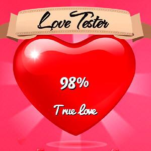 מחשבון אהבה חדש מגניב לשנת 2017 , פשוט רשמו את השם שלכם ושם הבן/בת הזוג ותראו את האחוזים , זה לא תמיד מדויק אבל זה חמוד ואפשר לכתוב גם בעברית