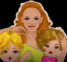 הלבשת אמא וילדים