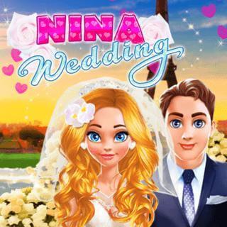בואו לארגן את החתונה של נינה , משחק עיצוב חתונה מגניב וכיף
