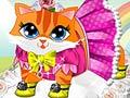 הלבשת חתולה חמודה