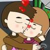 משחק נשיקה בגשם