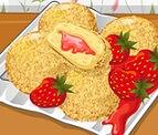 עוגת גבינה-תותים