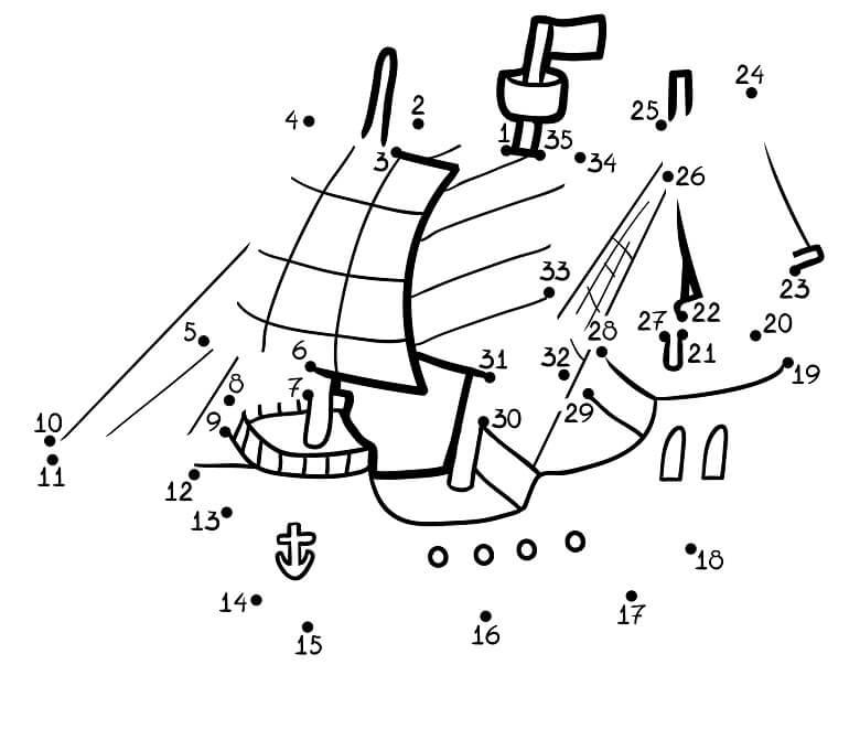 חיבור נקודות ספינה