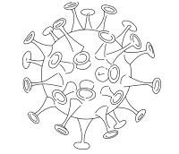 דפי צביעה קורונה - חוברת פעילות קורונה