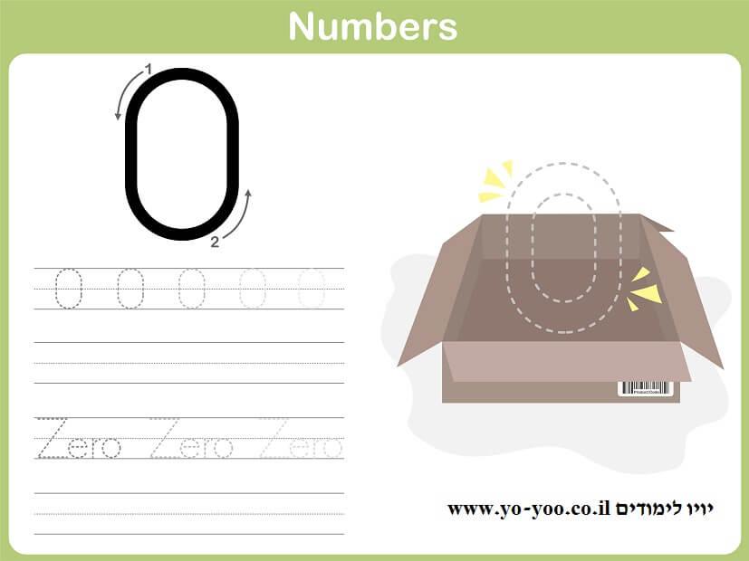 המספר 0 zero