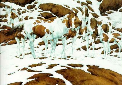 כמה סוסים בתמונה ?
