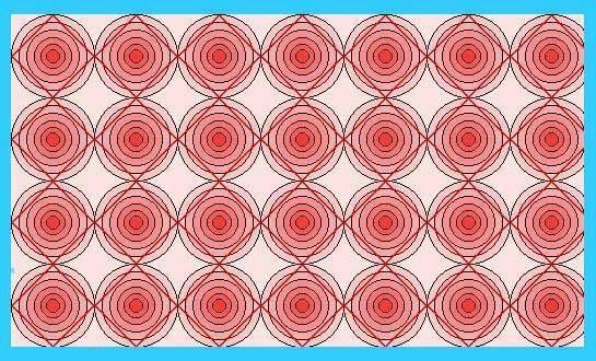קווים ישרים אדומים
