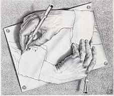 ידיים מציירות