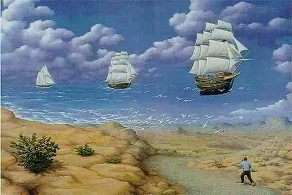 באוויר או בים