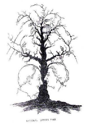 עץ או פרצופים