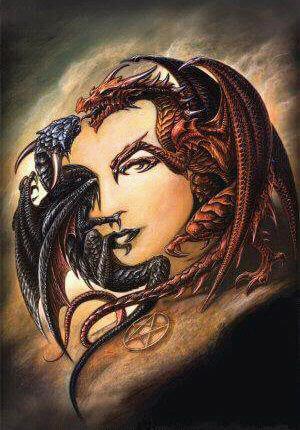 דרקונים או אישה