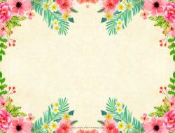 מסגרת פרחים צבעוני...