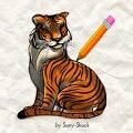 משחק איך לצייר נמר