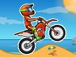 لعبة الدراجة النارية على الجبل